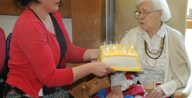 ICA member celebrates her 103rd birthday
