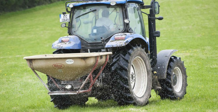 Surge in fertiliser spending, €615m up 24.6%