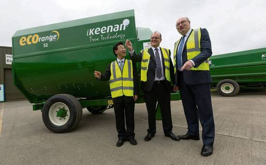 €15m machinery deal for Keenan