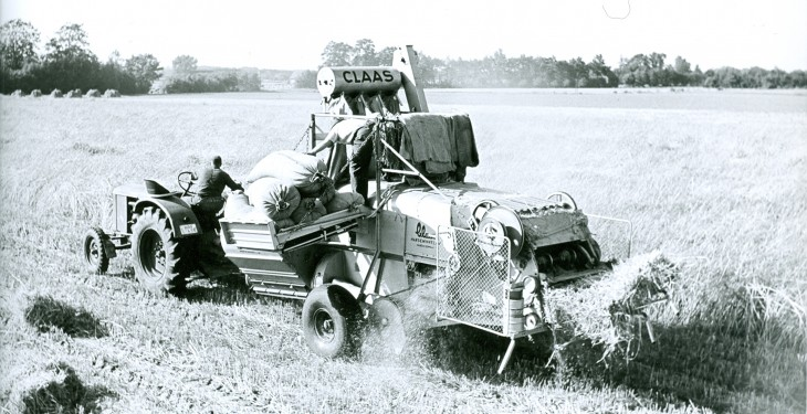 Now that's 100 years of Claas for De Courcey