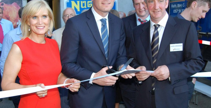 Minister opens €6m feed mill at Offaly's J Grennan & Sons