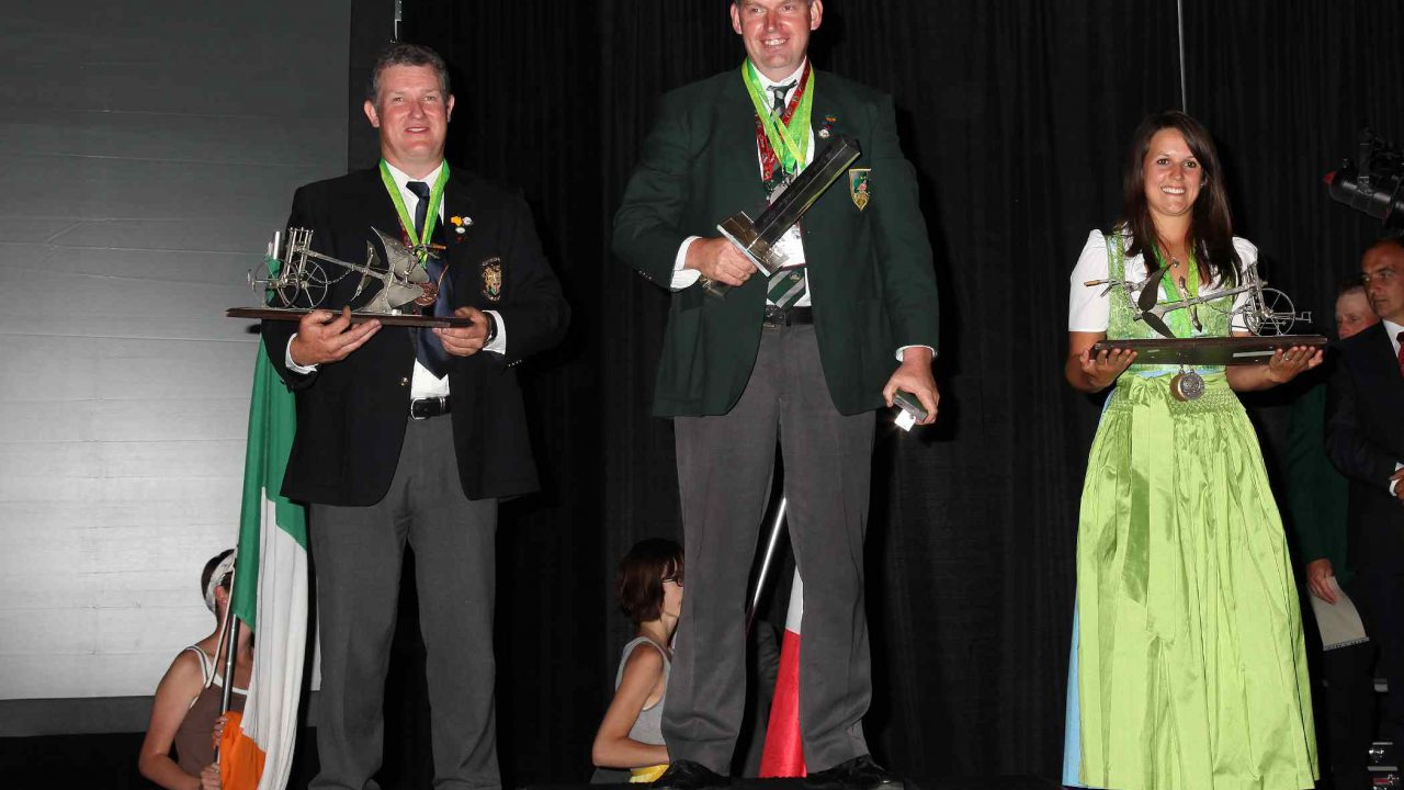Irish bring home world ploughing medals