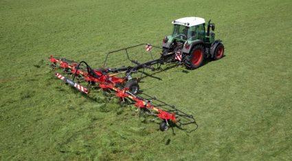 New model joins Fella 'Transport' tedder range