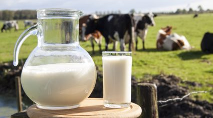 International milk price