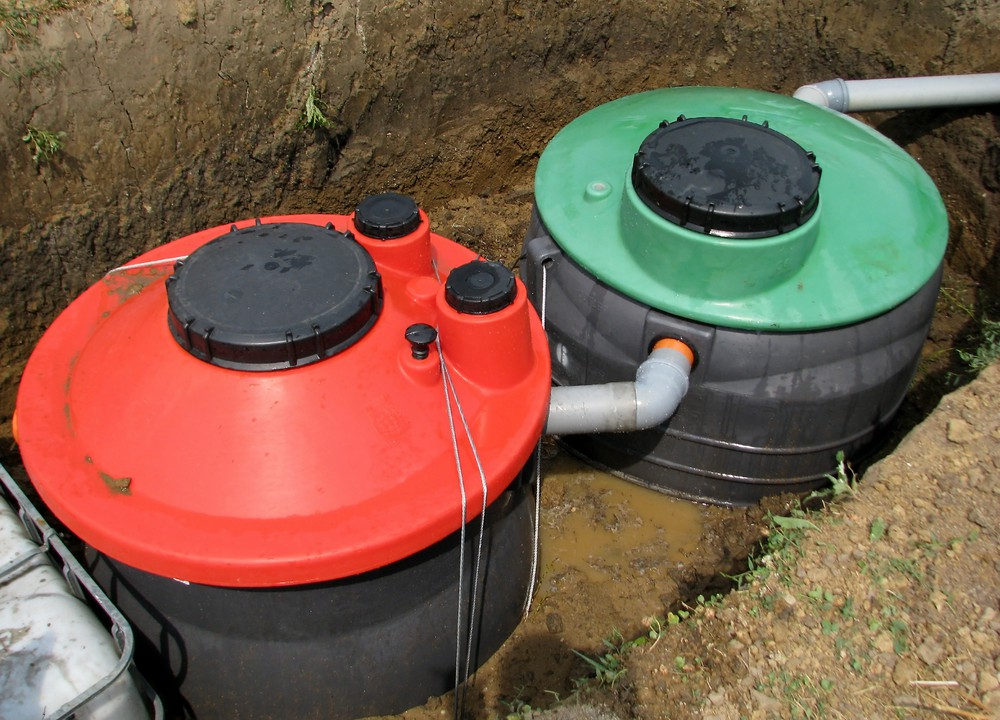First failures in septic tank checks