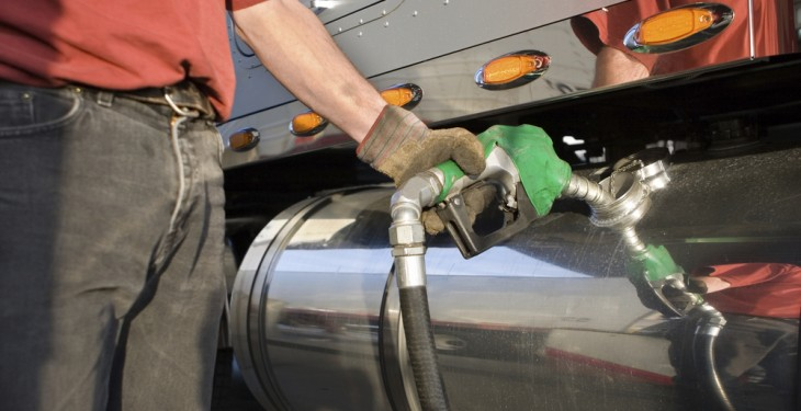 High fuel prices as trucker tax break under way