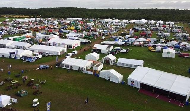 Tullamore show gets under way