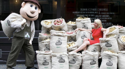 Ireland's National Potato Day is trending worldwide on twitter
