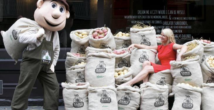 Ireland's National Potato Day is trending worldwide on twitter