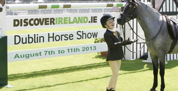 Daily €1,000 prizes set for Horse Show