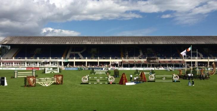Dublin Horse Show under way