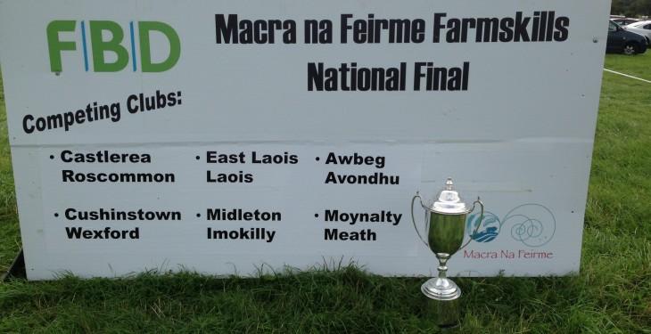 Macra National Farm Skills under way