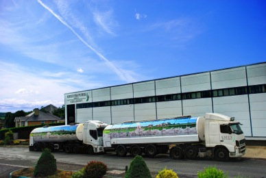 Green Pastures launch new high-tech milk tanker fleet