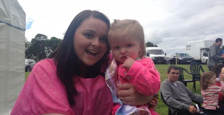 Tullamore show baby bonny winner