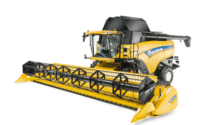 New Holland combine in comfort with CX8000, CX7000