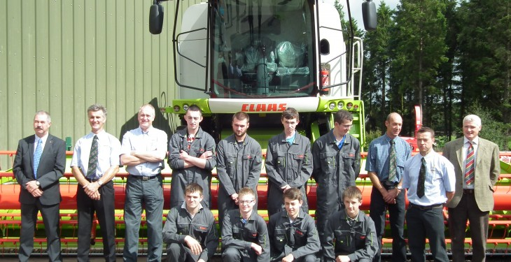 Irish graduates top of the CLAAS