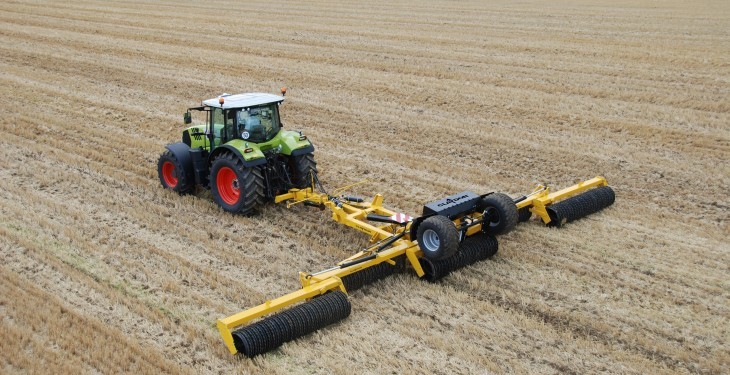 New fertiliser placement option for Claydon Hybrid