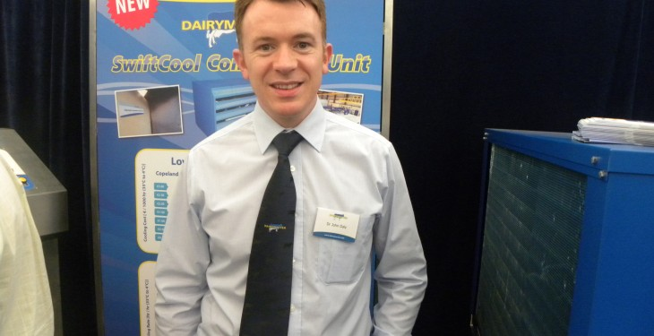 Meet the master of dairy innovations, Dr John Daly of Dairymaster