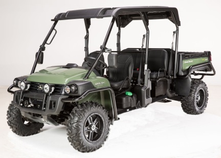 New John Deere XUV 855D S4 Gator utility vehicle