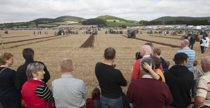 Ploughing results from Day Two 2015