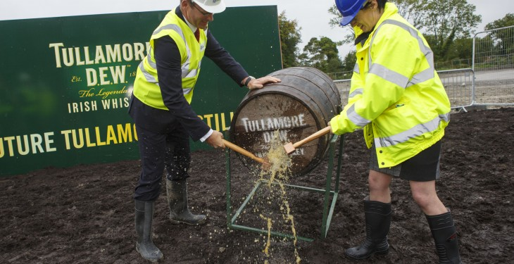 Whiskey in the jar for Tullamore, work begins on €35m new distillery