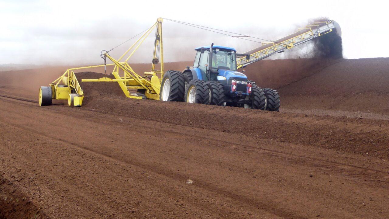 Historic bonanza harvest for Bord na Móna