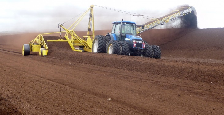 Historic bonanza harvest for Bord na Móna