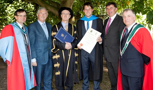 Agricultural Graduates Top of the Class