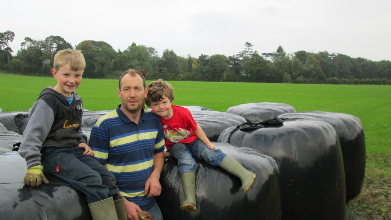 Fodder stocks built up on farm