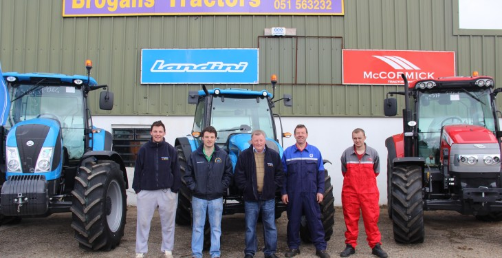 Expansion for Brogan's Tractors