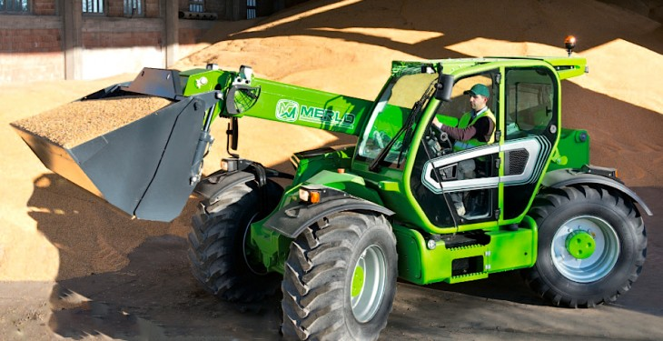 Merlo to introduce new heavy-duty turbofarmer