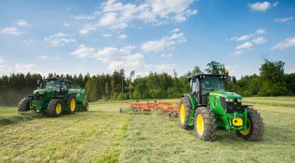 New John Deere tractors, baler make debut