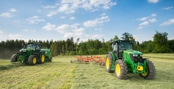 New John Deere tractors, baler make debut
