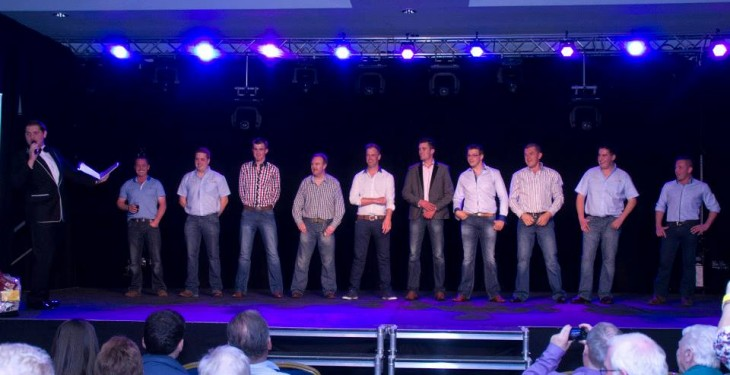 Farm studs raise thousands in charity auction