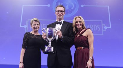 Greencore's Patrick Coveney collects IGD President's Cup