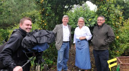 """Irish gardens """"ready to bloom"""" on breakfast television in Canada"""