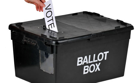 Ballot papers issued in IFA committees election