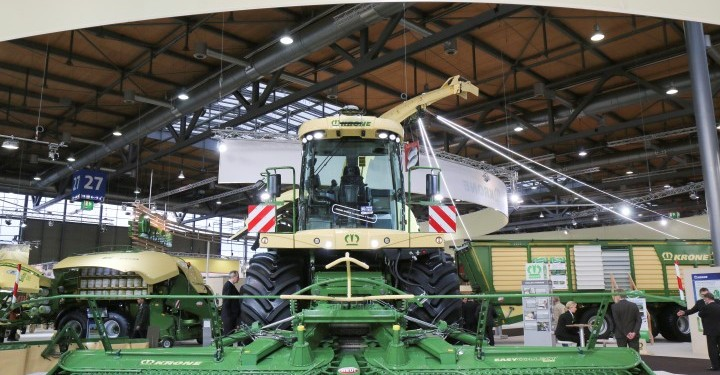 Machinery magic at Agritechnica