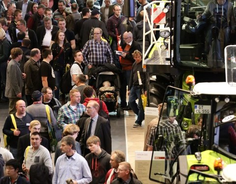 Claas comes out on top at Agritechnica