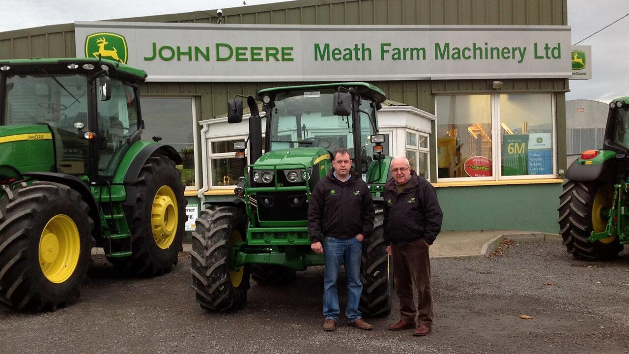 John Deere dealer changes in Ireland