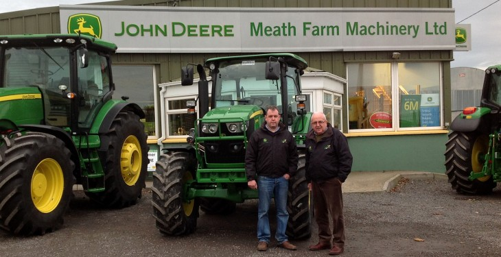 John Deere dealer changes in Ireland