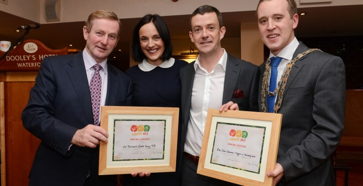 Taoiseach hails 'visionary' GIY food project for Waterford