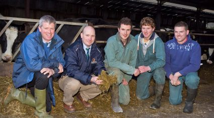 Efficient milk production on Ardboe dairy farm