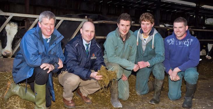 Efficient milk production on Ardboe dairy farm