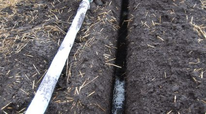Land drainage key for grass growth