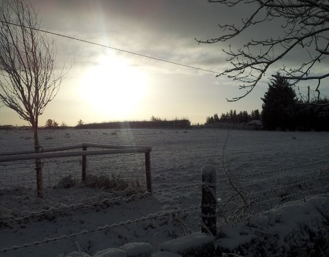 Snow-ice warning issued by Met Eireann
