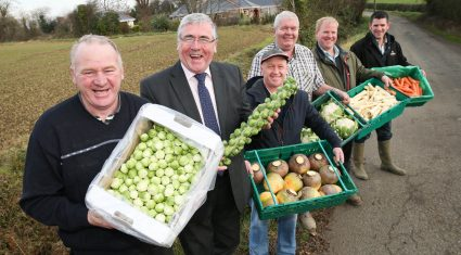 Consumers urged to buy Irish vegetables this Christmas
