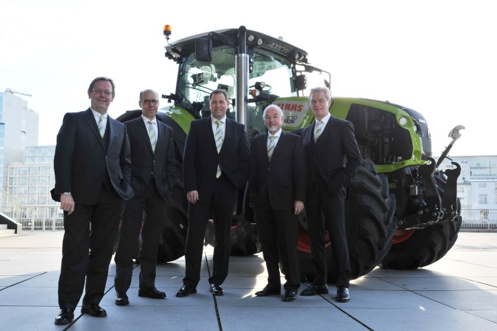 CLAAS posts impressive figures in anniversary year