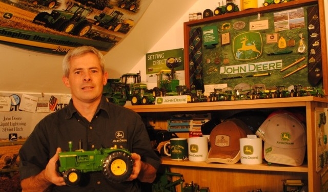 Irish fans spring to the top of John Deere