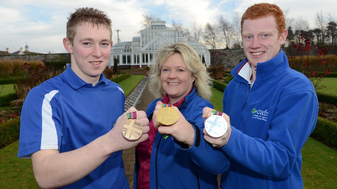 Hat trick of success for Greenmount students